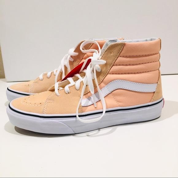 Vans Shoes | Vans Sk8 Hi Top Peach Tan